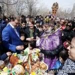 Քաղաքապետ Տարոն Մարգարյանը Սուրբ Զատիկը նշել է ավանցիների հետ